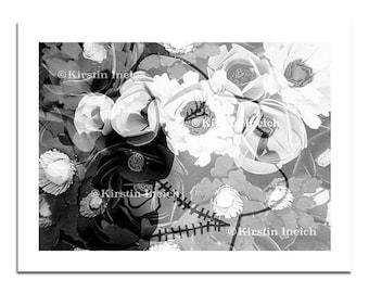 Blossoming Bride- SUGAR SKULL VARIANT