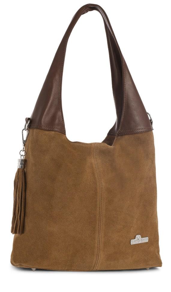 a9403fa4299f Agnes by LiaTalia Womens Italian Suede Leather