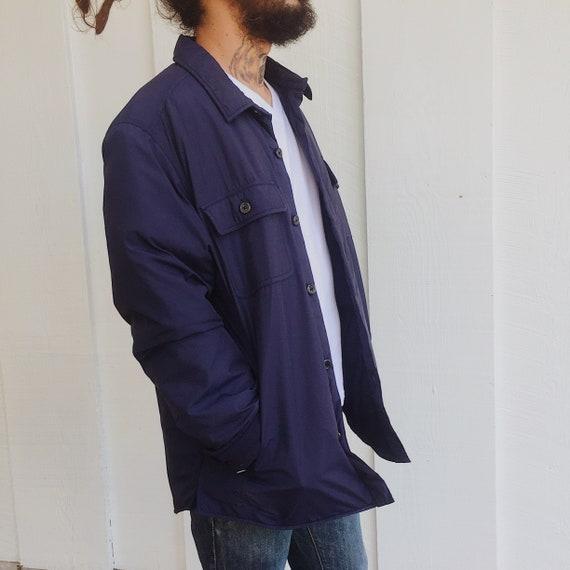 Navy Eddie Bauer Down Coat