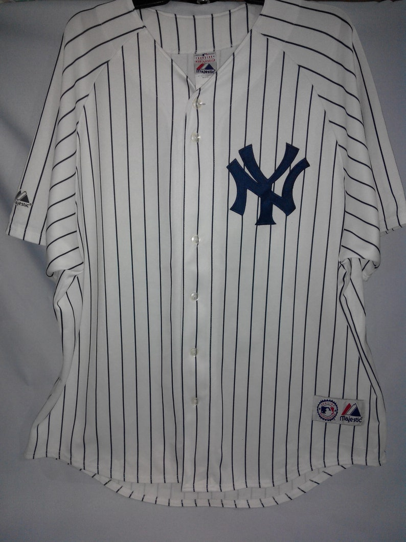 premium selection 4d629 53843 vintage New york Yankees MLB 25 Teixeira player bigsaiz xxl jersey