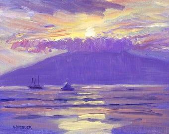 Lahaina Sunset, Maui