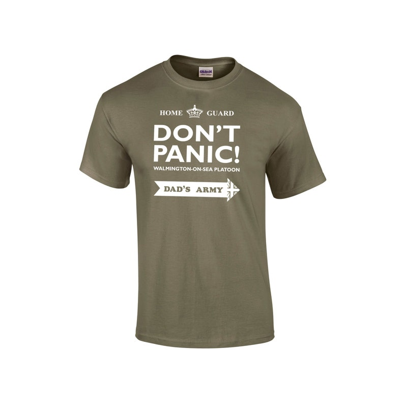 Tee TributeEtsy Tshirt Army Guard Don't Panic Home Dads A4Rjq5cL3