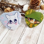 Moomin Buttons