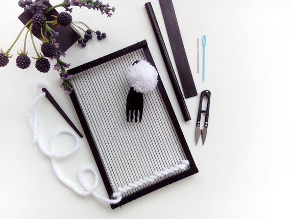 Tapestry Weaving Frame Loom for Beginners Weave Tools | Etsy