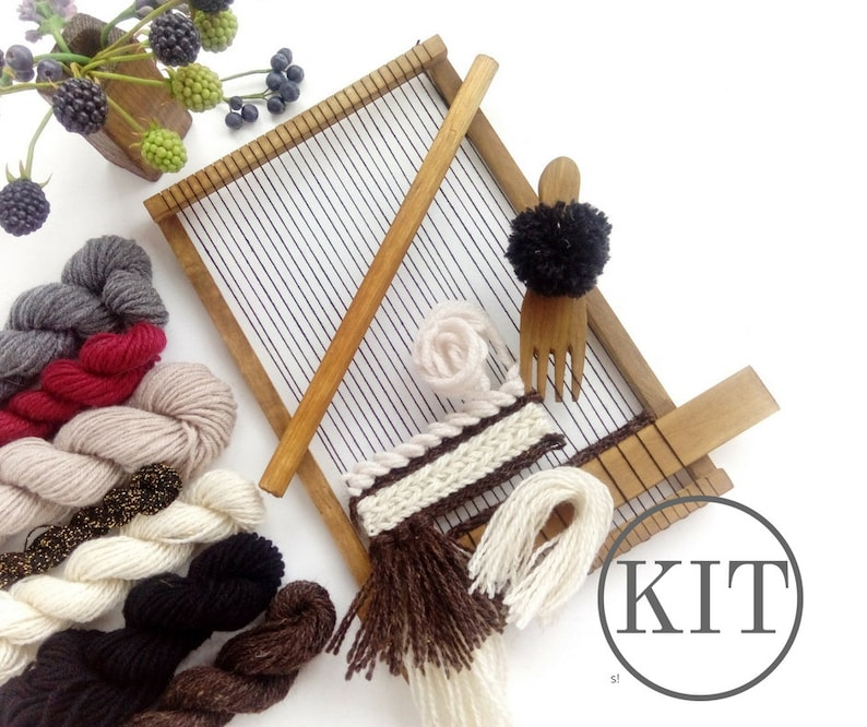969ff47357 Weaving Loom Kit With Weaving Tools Make Your Own DIY Kit