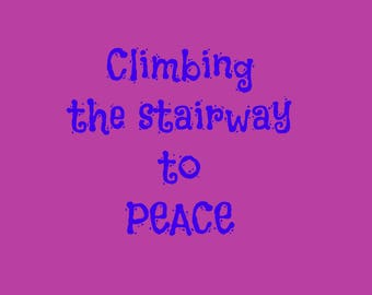 Climbing the stairway to peace
