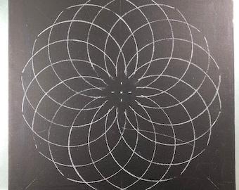 Mandala stencil | Etsy