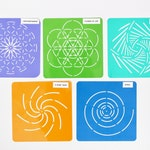 Mandala Stencil Dot Painting Design Collection- mandala stencils for dot painting rocks