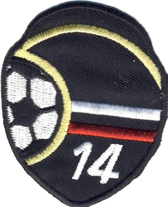 Soccer Football Deutschland Germany Symbol 14 Patch Appliqu Etsy