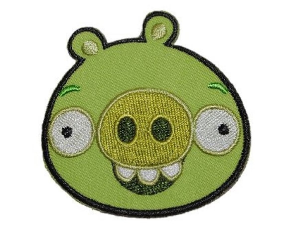 Beware Of Angry Bird drieeck #5122 PATCH VELCRO Insigne airsoft paintball