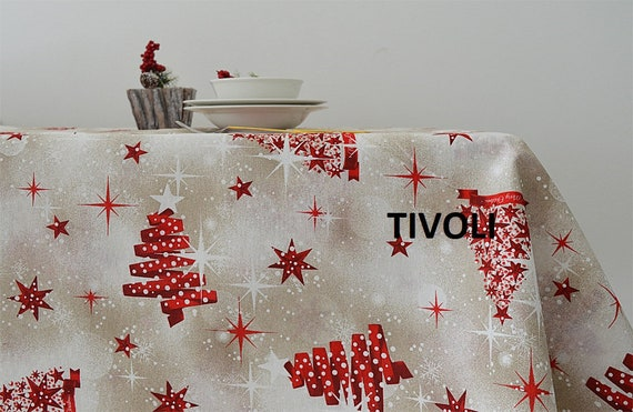 Christmas Tablecloths.Christmas Tablecloths Made In Italy 4 Fantasies Pratiroto