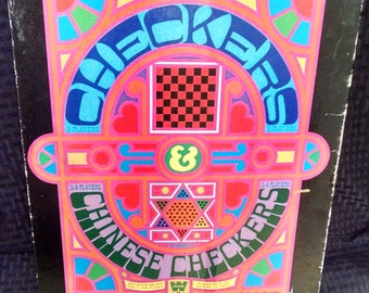 Checkers & Chinese Checkers Game Set