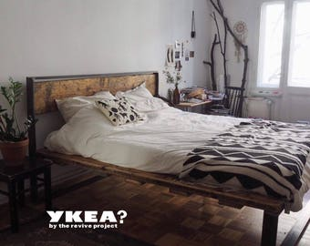 Beds made from revived materials all sizes