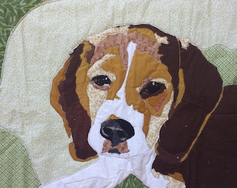 Quilted Beagle Dog