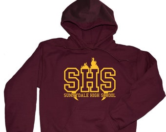 Buffy The Vampire Slayer Hoodie. Sunnydale High Buffy The Vampire Slayer Hoodie. Buffy Merchandise. S-3XL.