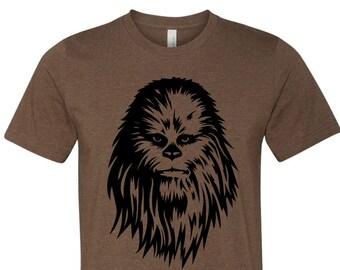 e4a0de0ad Star Wars Chewbacca Shirt. Chewbacca T-Shirt. Disney Chewbacca Shirt.  Disney Shirts.