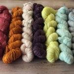 Fawn Minis - 100% Superwash Merino Wool, single-ply fingering weight