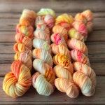 Flip Flops & Ice Pops - 85/15 Superwash Merino Wool/Nylon blend mini skeins