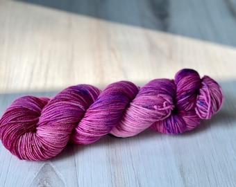 Grape Soda- Hand Dyed DK 100% Merino yarn