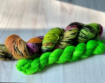 OOAK Neon Sock Set #1