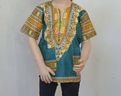 Girls Ankara Top, AfricanTop, Kids Ankara Top, African Kids Outfit, African Clothes, Ankara Fashion, African Style