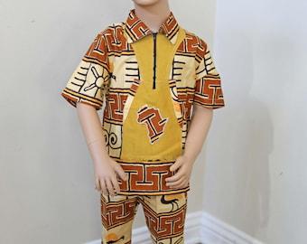 Boys ANKARA SET, Dashiki, Kids Ankara Set, African Kids Outfit, African Clothes, Ankara Fashion, African Style