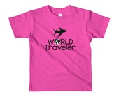 World Traveler Kids Travel Shirt (size 2-6)