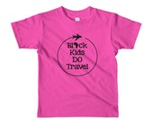 Black Kids Do Travel Kids Travel Shirt (size 2-6yrs)