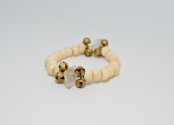 Queen Mother Jewelry- Bone, Bells and Harmony Bracelet