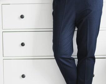 Cheville longueur femmes robe pantalon pour porter au bureau etsy