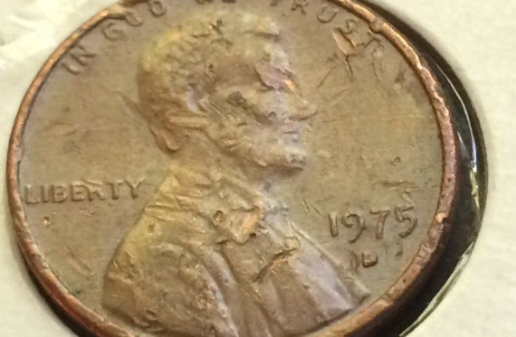 1975 D Lincoln Memorial Penny #INVB260