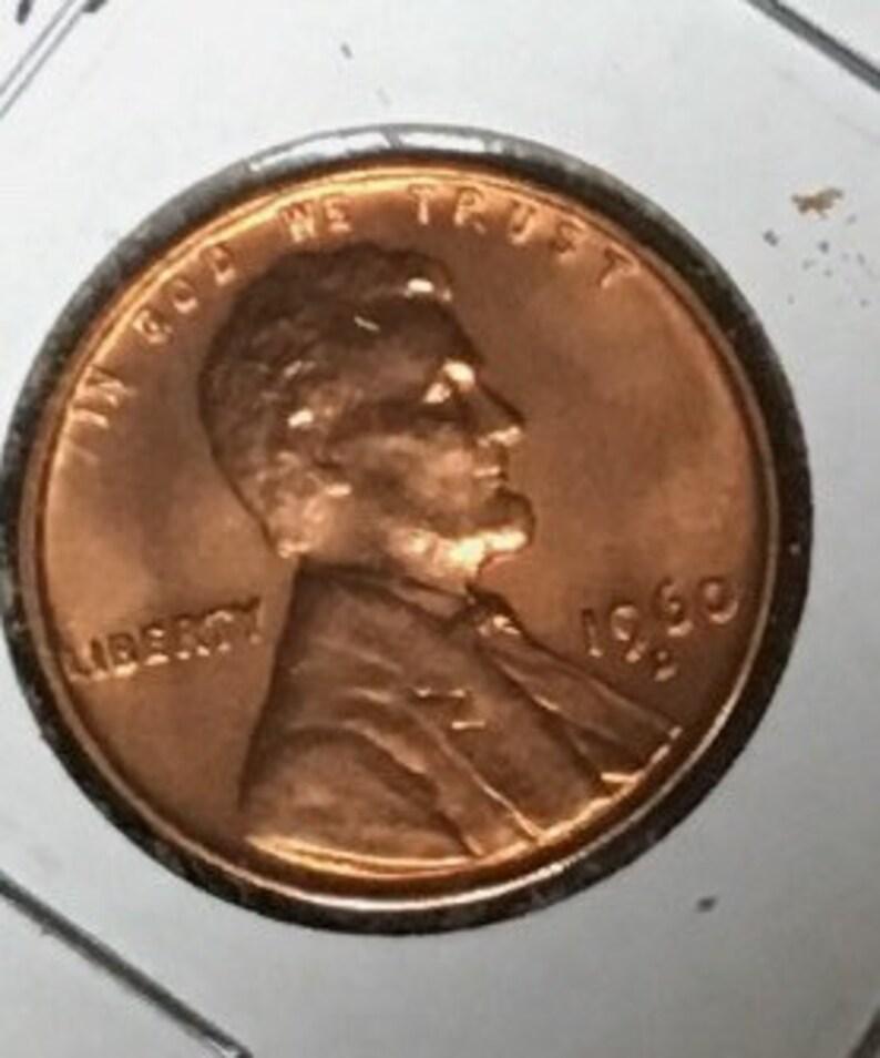 1960 D GEM BU Lincoln Memorial Penny #INVN023