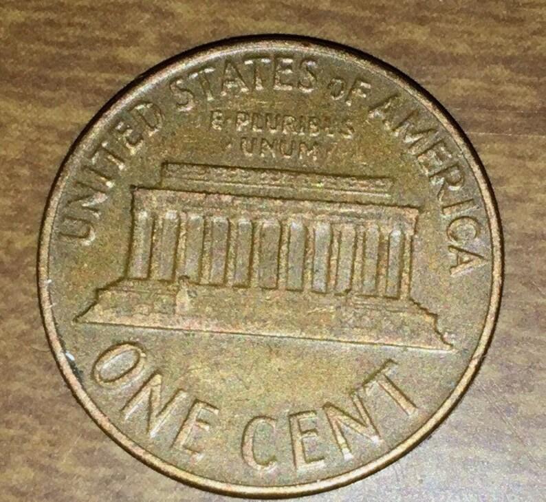 1964 ErRoR Lincoln Memorial Penny #INVJ022 Free Shipping