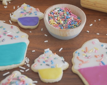 Birthday Cookie Decorating Box