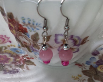 Pretty and Pink Earrings