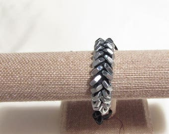 Men's Zinc Hex Nut Bracelet