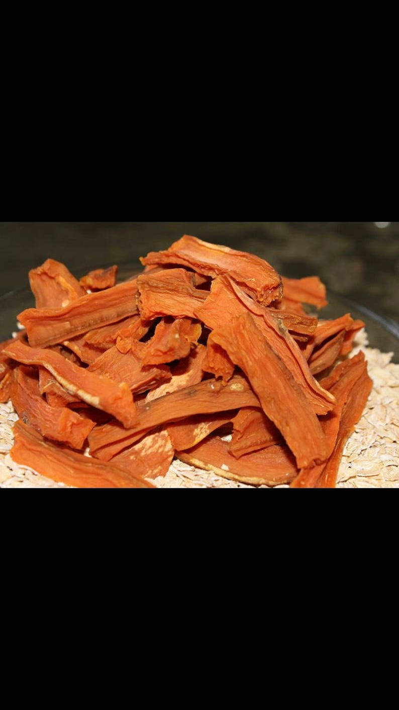 Sweet Potato Sticks Treat. All natural homemade healthy image 0