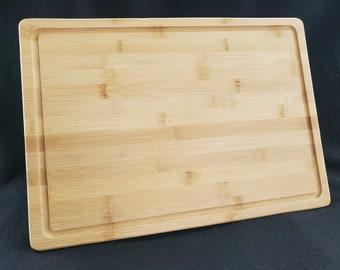 Plain Bamboo Cutting Board