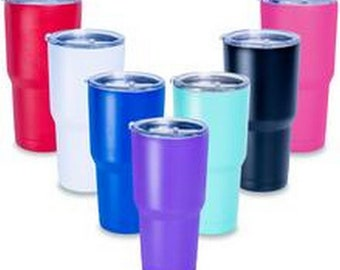 Laser Engraved Tumblers, Personalized Large Tumblers, Colorful Large Tumblers, 30 oz. Tumbler, Large Tumbler