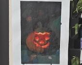 Paintings from the Real, Pumpkin Halloween n 4