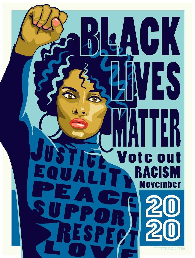 Black Lives Matter Vote 2020 Download image 0