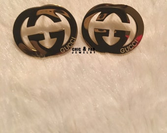 2b3484048c7 Gucci Earrings Stainless Steel Stud Earrings Available in Gold - Gucci  Earrings