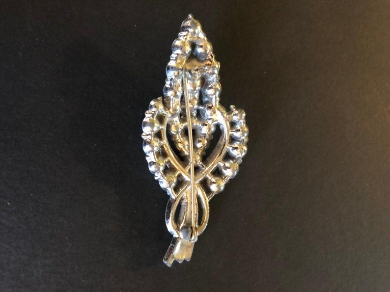 Vintage Costume Jewelry Pin Brooch Dressage