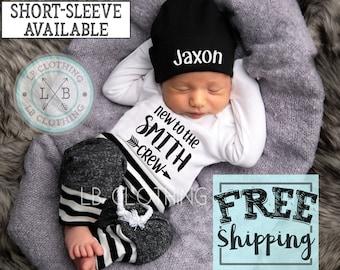13e67f3e3117 Newborn boy coming home outfit