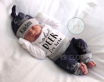 2f762f21c BABY BOY Coming Home Outfit, baby boy, personalized, baby hat, baby shower  gift, baby boy gift, clothes, new mom, baby boy, expecting mom