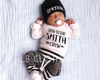 2ed5afdad43 Newborn boy outfit