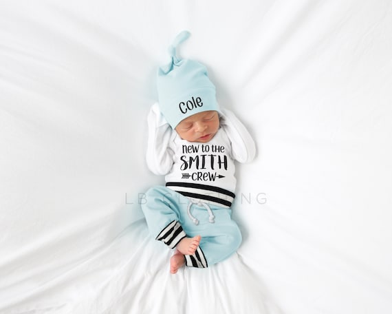 Custom Name outfit Personalized Hat Newborn Boy Outfit Baby Boy Gift Baby Gift Photo Props Baby boy Outfit Baby Boy Clothes