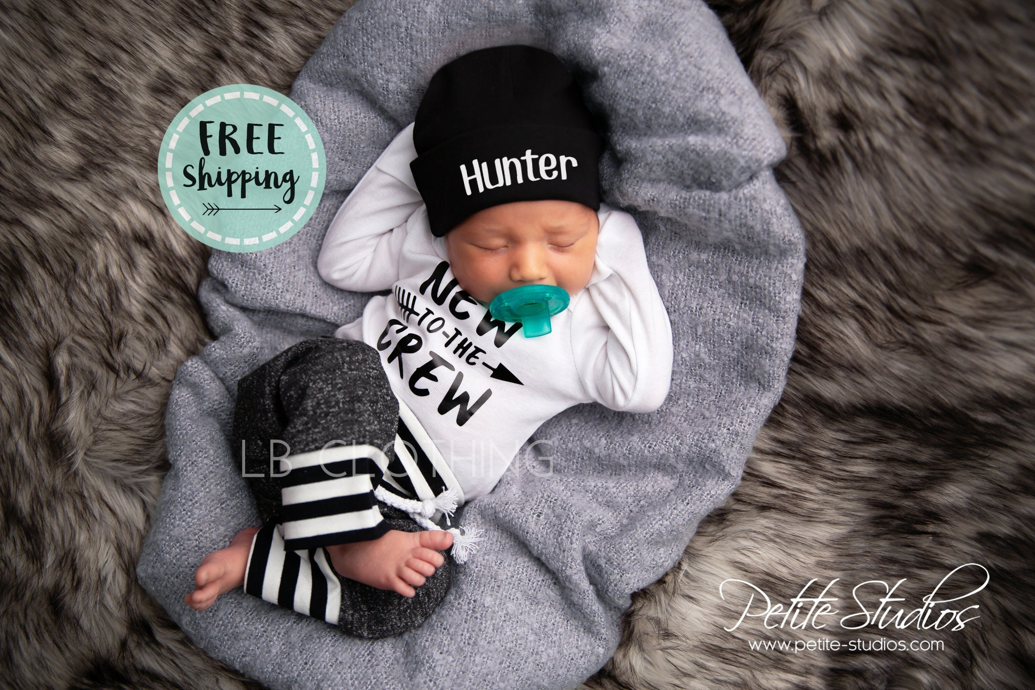 Newborn Boy Coming Home Outfit Baby Boy Take Home Outfit