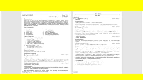 Certified Medical Assistant Resume Bundle Resume Cover Etsy