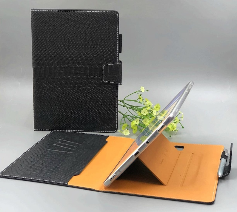 galaxy tab s4 case, samsung tab s4 case, galaxy tab s4 pen holder, tab s4  leather case, galaxy tab s4 smart cover, galaxy tab s4 bookcover